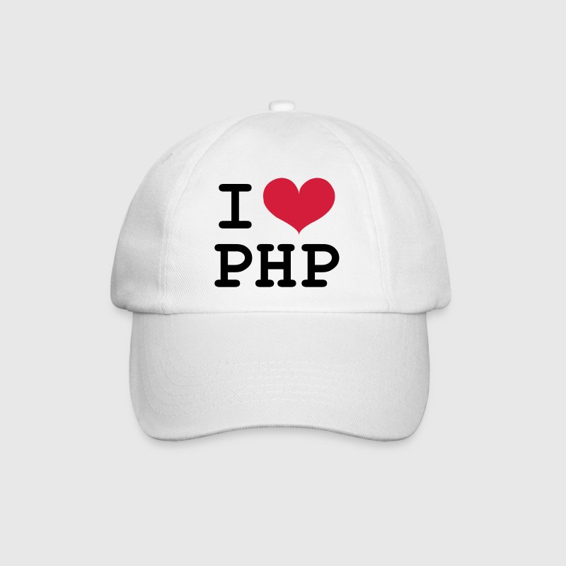 I Love PHP [Developer / Geek] Caps & Hats - Baseball Cap