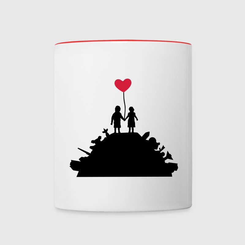 Kids - War and Peace - Love Tassen & Zubehör - Contrasting Mug