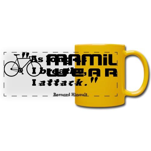 Attack like Hinault Mug - Full Color Panoramic Mug