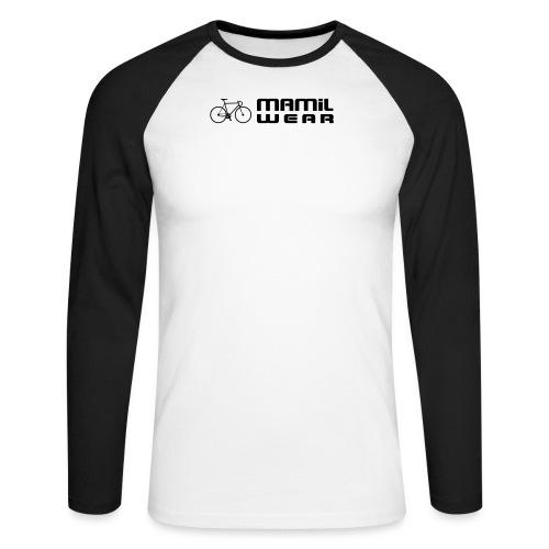 Attack like Hinault Mug - Men's Long Sleeve Baseball T-Shirt