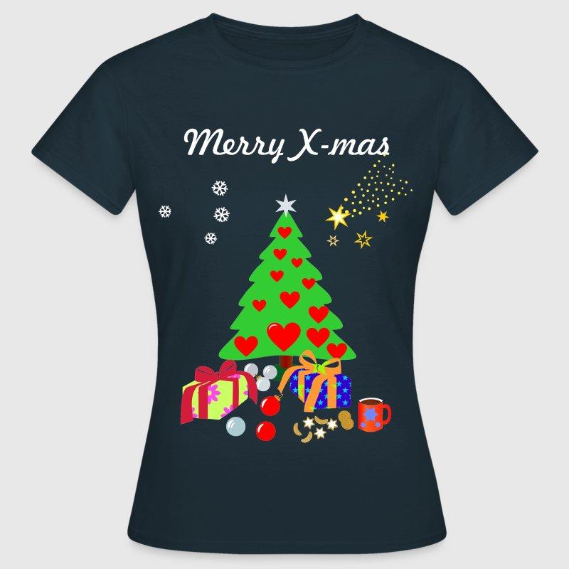 Ideen Weihnachtsdeko Weihnachtsmotive Bilder  - Frauen T-Shirt