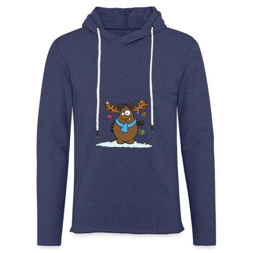 Winterdrusel 1 - Leichtes Kapuzensweatshirt Unisex