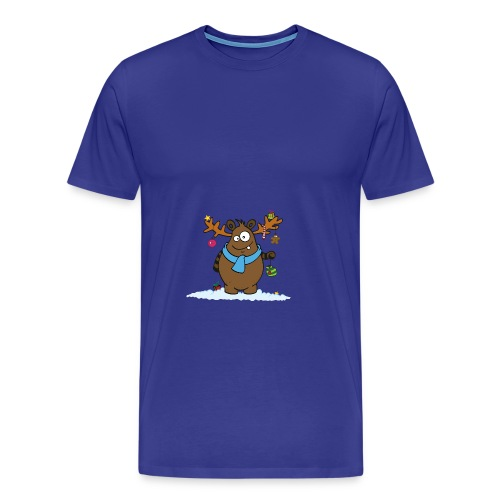 Winterdrusel 1 - Männer Premium T-Shirt
