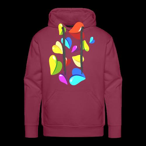 Herzchen Shirt für Frauen - Männer Premium Hoodie