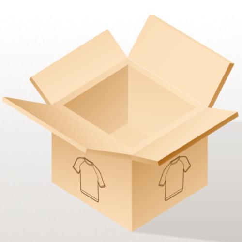 Schwarzfahrer T-Shirt (Schwarz Rot) Rücken - Männer Tank Top mit Ringerrücken