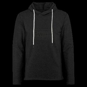 Schwarzfahrer T-Shirt (Grau Schwarz) - Leichtes Kapuzensweatshirt Unisex