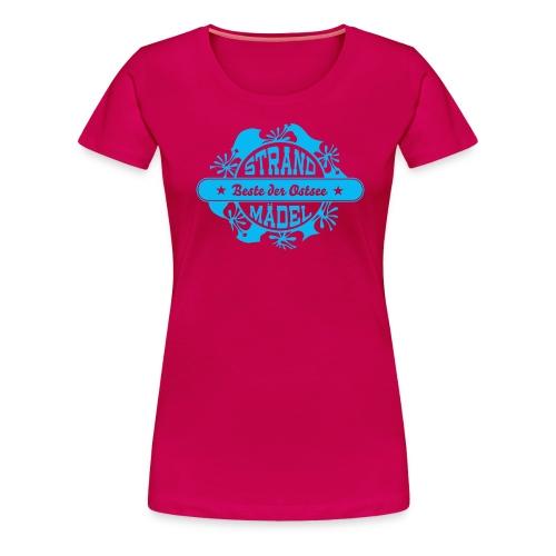 StrandWärmer_StrandMädel - Frauen Premium T-Shirt