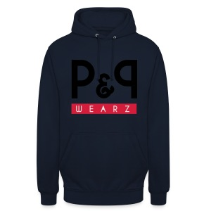 P&P Wearz Sweat Bi-colore For Him - Sweat-shirt à capuche unisexe
