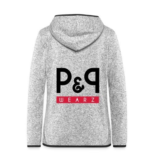 P&P Wearz Sweat Bi-colore For Him - Veste à capuche polaire pour femmes