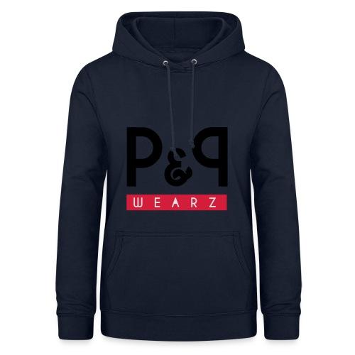 P&P Wearz Sweat Bi-colore For Him - Sweat à capuche Femme