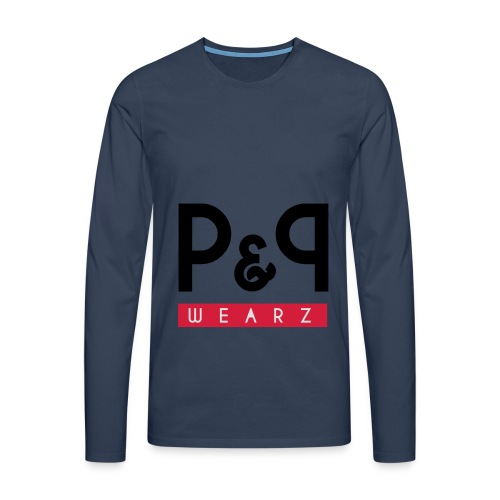 P&P Wearz Sweat Bi-colore For Him - T-shirt manches longues Premium Homme