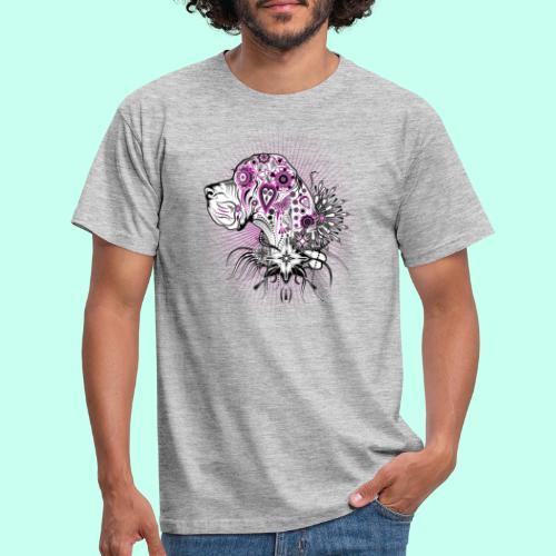 Doggenportrait Mexikanisch - Männer T-Shirt