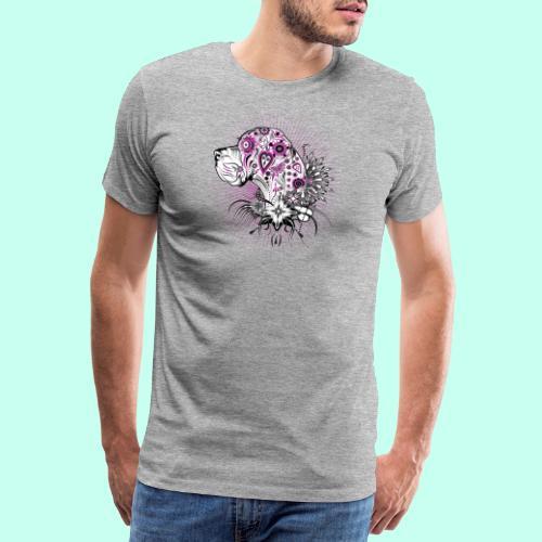 Doggenportrait Mexikanisch - Männer Premium T-Shirt