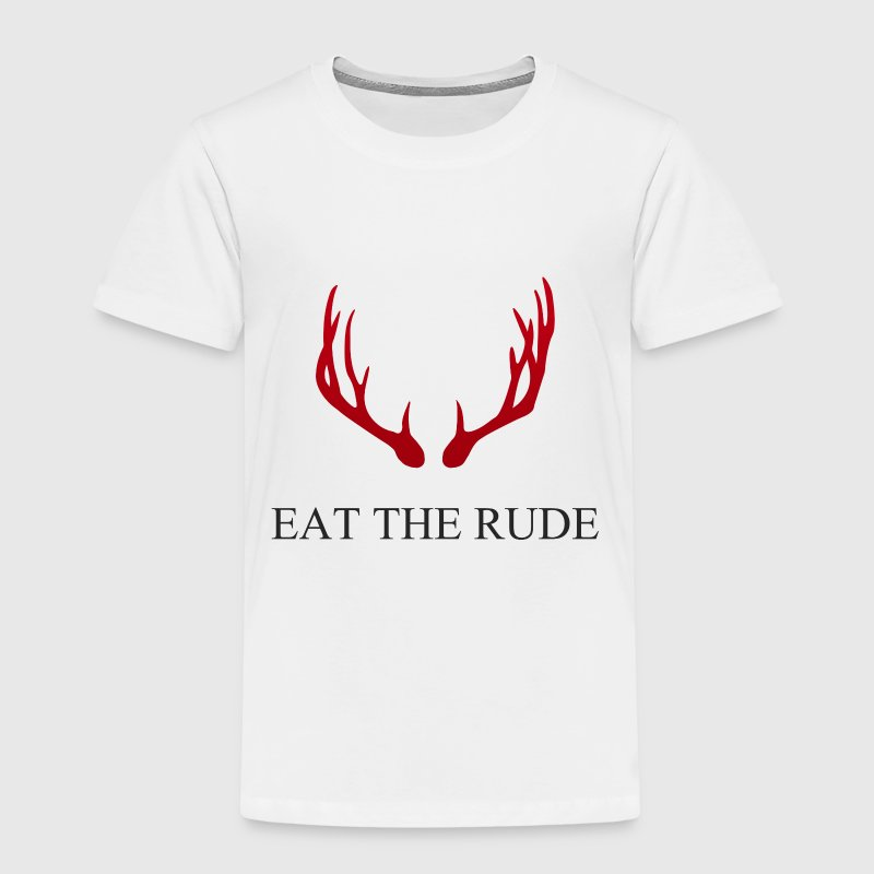 Hannibal Eat the rude - Kids' Premium T-Shirt
