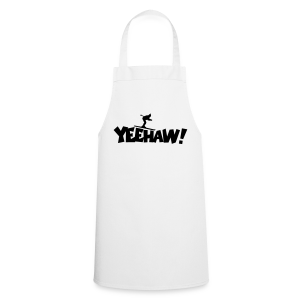 Yeehaw Skiing T-Shirt (Weiß/Schwarz) Herren - Kochschürze