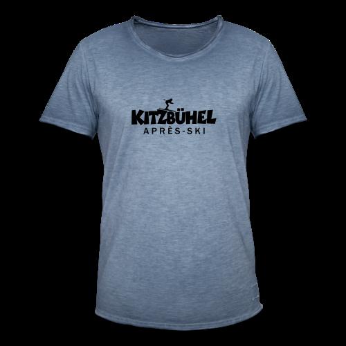 Kitzbühel Après-Ski T-Shirt (Damen Blau) - Männer Vintage T-Shirt