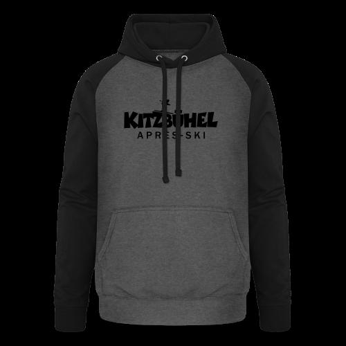 Kitzbühel Après-Ski T-Shirt (Damen Blau) - Unisex Baseball Hoodie