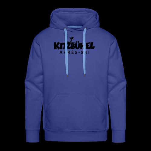 Kitzbühel Après-Ski T-Shirt (Damen Blau) - Männer Premium Hoodie