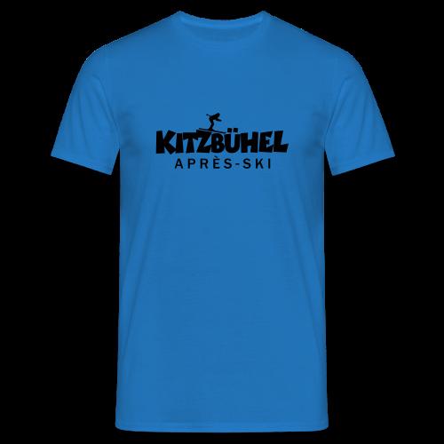 Kitzbühel Après-Ski T-Shirt (Damen Blau) - Männer T-Shirt
