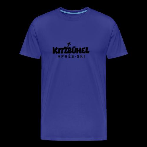 Kitzbühel Après-Ski T-Shirt (Damen Blau) - Männer Premium T-Shirt