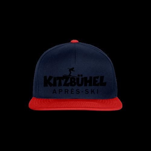 Kitzbühel Après-Ski T-Shirt (Damen Blau) - Snapback Cap