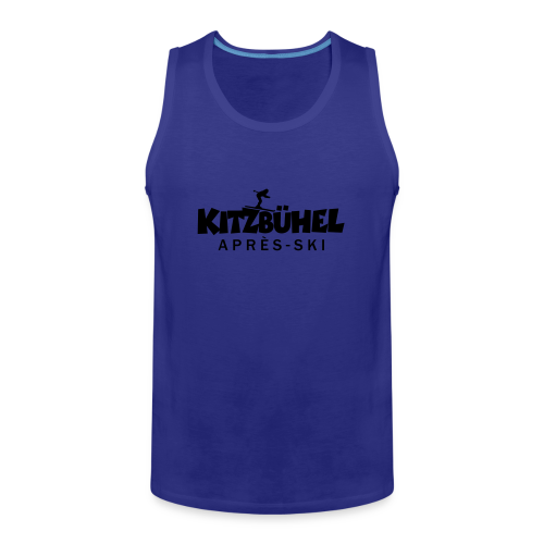 Kitzbühel Après-Ski T-Shirt (Damen Blau) - Männer Premium Tank Top