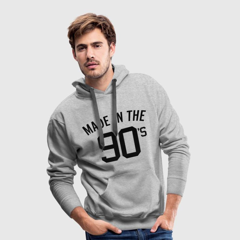 Made In The 90's  Sweat-shirts - Sweat-shirt à capuche Premium pour hommes