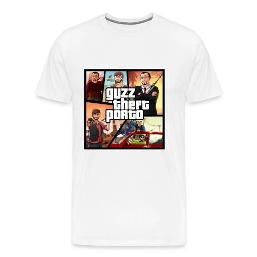 Sweat Premium Guzz theft porto - T-shirt Premium Homme