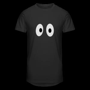 Lustiges Tank Top mit Augen (Herren) - Männer Urban Longshirt