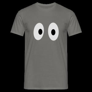 Lustiges Tank Top mit Augen (Herren) - Männer T-Shirt