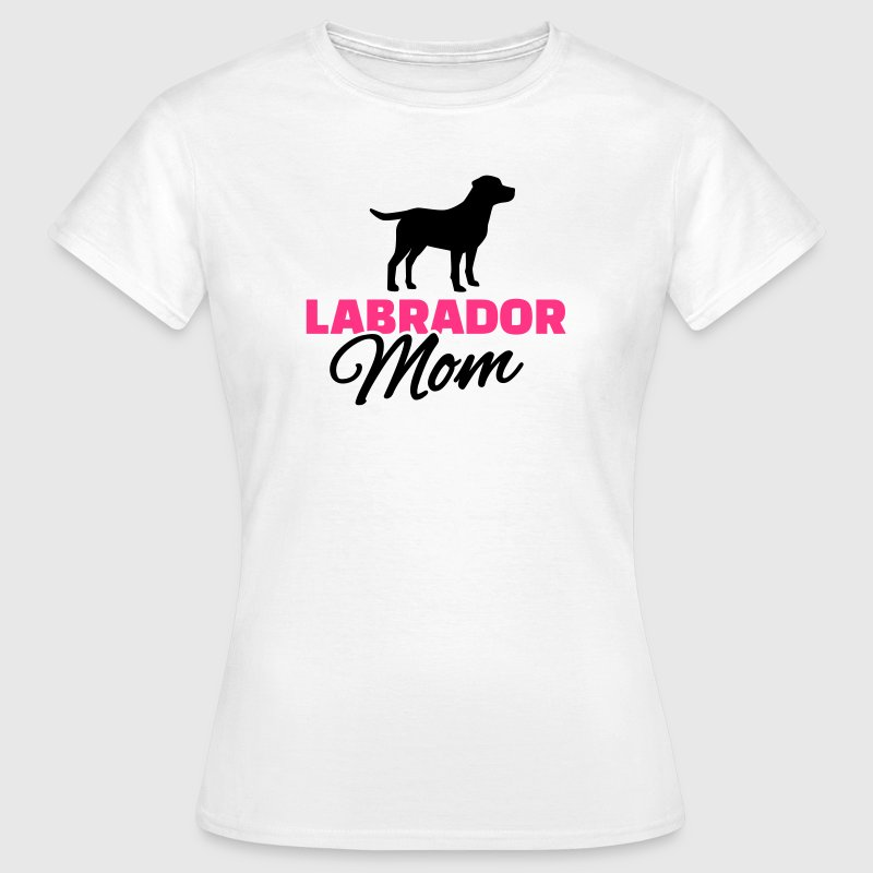 Labrador Mom T-Shirts - Frauen T-Shirt