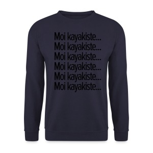 Moi kayakiste... - Sweat-shirt Homme