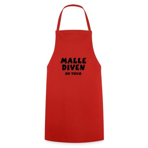 Malle Diven on Tour T-Shirts (Rot/Weiß) - Kochschürze
