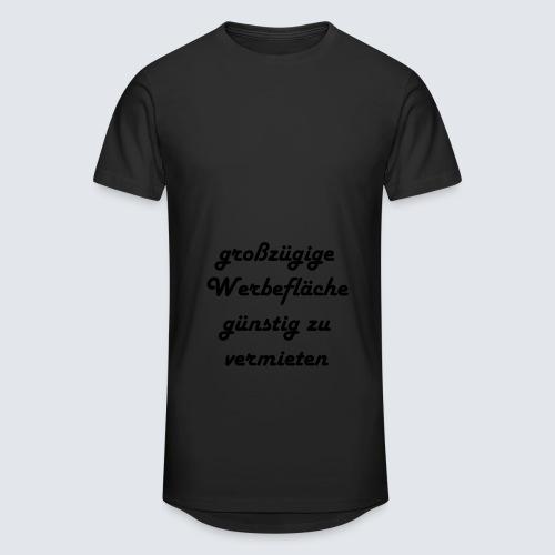 großzügige Werbefläche - Männer Urban Longshirt