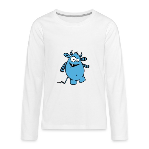 Knolle Basic - Teenager Premium Langarmshirt