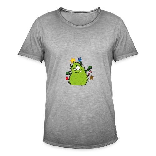 Winterdrusel 2 - Männer Vintage T-Shirt
