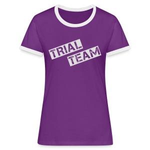 MSC Frauen-Shirt TRIAL - Frauen Kontrast-T-Shirt