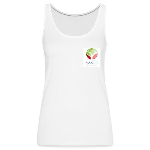 T-Shirt femme logo couleur - Débardeur Premium Femme
