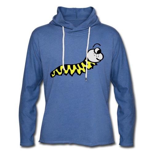 Würmchen   Süße Comic Motive - Leichtes Kapuzensweatshirt Unisex