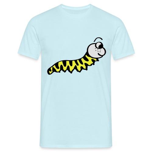 Würmchen   Süße Comic Motive - Männer T-Shirt