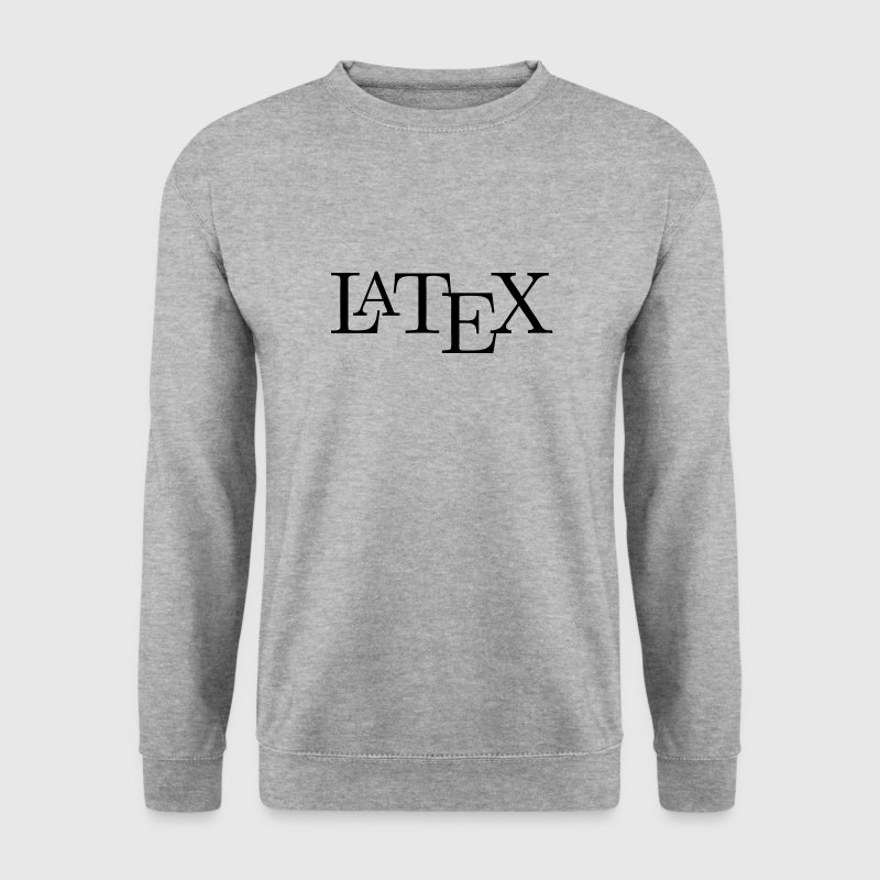 LaTeX Hoodies & Sweatshirts - Men's Sweatshirt