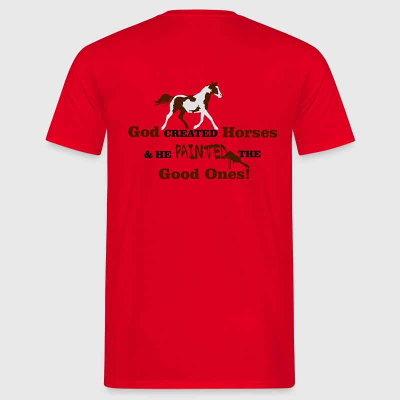 Paint Horse T-Shirts - Men's T-Shirt