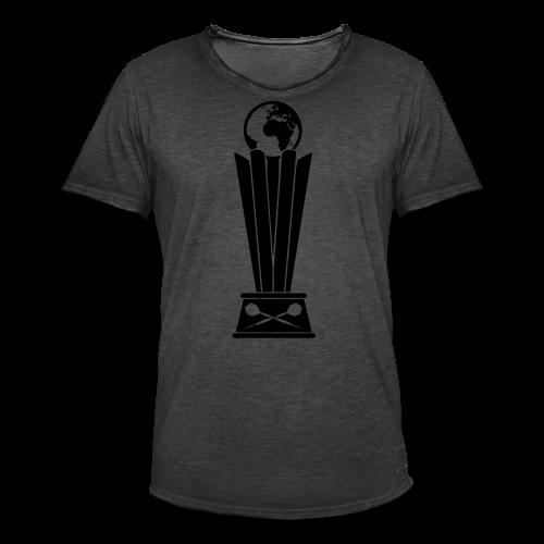Darts Weltmeisterschafts Trophäe Shirt - Männer Vintage T-Shirt