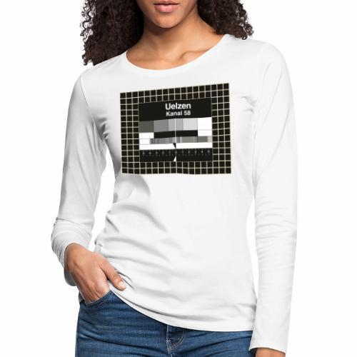 Sender Uelzen - Frauen Premium Langarmshirt