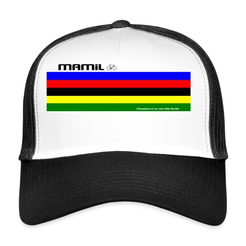 MAMiL My Own World Champion Mouse Mat - Trucker Cap