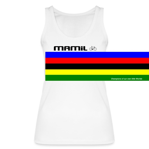 MAMiL My Own World Champion Mouse Mat - Women's Organic Tank Top by Stanley & Stella