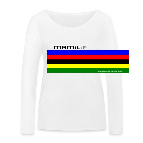 MAMiL My Own World Champion Mouse Mat - Women's Organic Longsleeve Shirt by Stanley & Stella