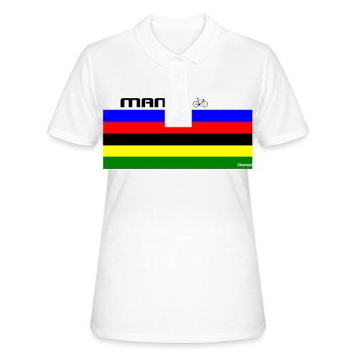 MAMiL My Own World Champion Mouse Mat - Women's Polo Shirt