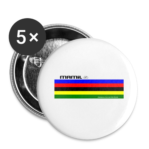 MAMiL My Own World Champion Mouse Mat - Buttons small 1''/25 mm (5-pack)