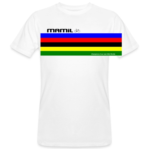 MAMiL My Own World Champion Mouse Mat - Men's Organic T-Shirt